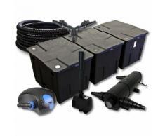 SunSun Filter Set für 90000l Teich mit 36W Teichklärer und 100W ECO Pumpe 25m Schlauch Springbrunnen