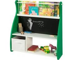 SoBuy Kinderregal kindertisch mit tafel Spielzeugkiste und Bücherregal BHT ca.: 86x90x25cm KMB09-GR