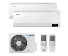 Samsung Klimaanlage Dual Split CEBU 9000+9000BTU WIFI-Fu-R32, A++