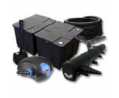 SunSun Filter Set für 60000l Teich mit 72W Teichklärer und 100W ECO Pumpe 25m Schlauch Springbrunnen
