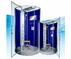 AcquaVapore DTP6037-4201 DBL Dampfdusche in 100x100cm -11312- mit Easyclean Scheibenversiegelung
