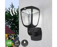 Solarleuchte außen aus Aluminium mit Bewegungsmelder von Lampenwelt