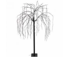 Lichterbaum Trauerweide 400 warmweiße LED H180cm mit Lauflicht, Lichterdeko Stimmungslicht