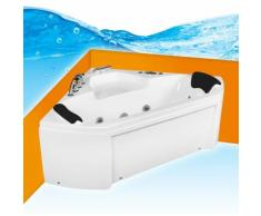 Whirlpool Pool Badewanne Eckwanne Wanne A1402R 135x135