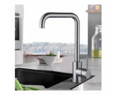 Auralum 360° Drehbar Wasserhahn Spültischarmatur Einhandmischer Küche Bad Armatur Mischbatterie