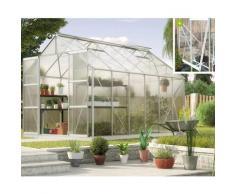 Vitavia Gewächshaus 'Jupiter 9900' aluminium eloxiert 9,9 m² 4 mm HKP