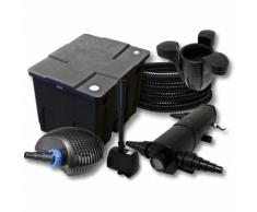 Filter Set 12000l Teich,24W Teichklärer,CTF ECO 20W Pumpe 25m Schlauch Skimmer SK30 Springbrunnen