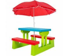 Kindersitzgruppe inkl. Sonnenschirm