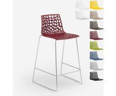 Design Hocker für Küchenbar 86cm Mini Spider | Bordeaux - Grand Soleil