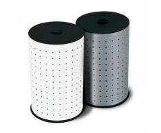 Hailo Wäschebehälter, Wäschehocker, Wäschebox Silber 0744-121