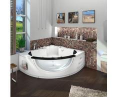 Whirlpool Pool Badewanne Eckwanne Wanne A1506N-ALL 152x152cm Reinigungsfunktion -13833- mit Radio