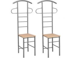 Herrendiener Stuhl (2 Stück) Stummer Diener