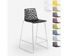 Design Hocker für Küchenbar 86cm Mini Spider | Schwarz - Grand Soleil