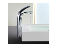 Elegant Wasserhahn Waschbecken Armatur Bad hoch Einhebelmischer Waschtischarmatur Badarmatur