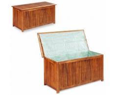 Hommoo Gartenbox 150¡Á50¡Á58 cm Massivholz Akazie