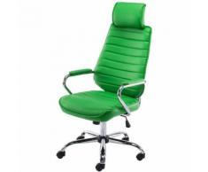CLP - Bürostuhl Rako V2 Kunstleder-grün