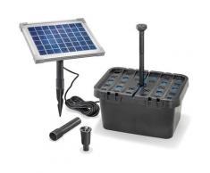 Solar Teichfilter Set 5/470 Solarpumpe Gartenteich Pumpenset Teich esotec 101065