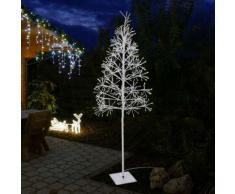 Beleuchteter Baum Weiß / 516 LED / H180cm / In- & Outdoor / Warmweiß