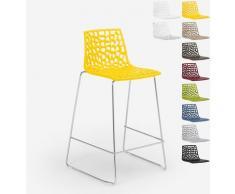 Design Hocker für Küchenbar 86cm Mini Spider | Gelb - Grand Soleil