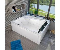 Whirlpool Vollausstattung Pool Eckwanne Wanne A612H-A Reinigungsfunktion 135x180 -13405- ohne