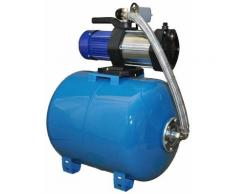 Omni - Wasserpumpe 1300W 90l/min 80l Druckbehälter Gartenpumpe Hauswasserwerk Set