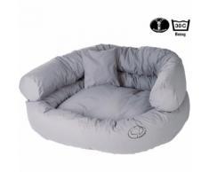 Ersatzbezug für Hunde-Sofa, Farbe: Hellgrau, 95 x 75 x 35 cm