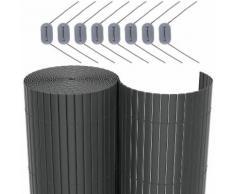 PVC Sichtschutzmatte 80 x 300cm GPF083G