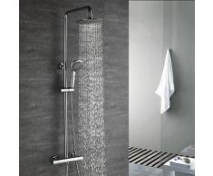 Duscharmaturen Set Thermostat Duschset Brausethermostat Duschsystem Duscharmatur Kupfer mit