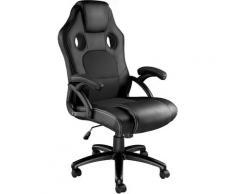 Tectake - Bürostuhl Tyson - Gaming Sessel, Zockersessel, Computerstuhl - schwarz