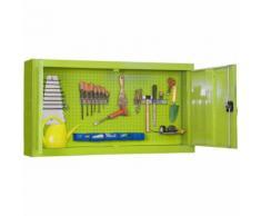 Werkzeugschrank Gartenschrank 900, Maße: 67,50 x 90 x 23 cm (H x B x T), Traglast: 75 kg mit
