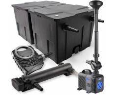 SunSun 2-Kammer Filter Set 60000l 36W UVC Teich Klärer NEO8000 70W Pumpe Springbrunnen