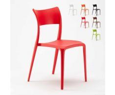 Ahd Amazing Home Design - Stock 20 Esszimmerstuhl Esstischstuhl Gartenstuhl Polypropylen für Bar