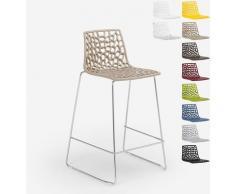 Design Hocker für Küchenbar 86cm Mini Spider | Beige - Grand Soleil