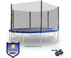 Trampolin 400 Outdoor Gartentrampolin Komplettset 4,00m 400 cm