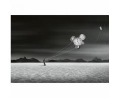 Papier Fototapete Burning Man 368x254cm