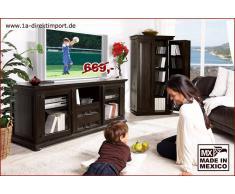 1a Direktimport Mexico Kolonial - Lowboard, TV-Tisch, Kolonialstil, montiert