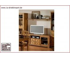 1a Direktimport Mexico Lowboard TV-Kommode - 172cm, Pinie massiv