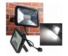 CHILITEC LED Fluter SlimLine 30W neutralweiß 2300lm IP44 schwarz EEK:A+