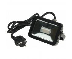 CHILITEC LED Fluter SlimLine CTF-SL10B 10W 760lm warmweiß schwarz EEK:A+