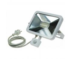 CHILITEC LED Fluter SlimLine 30W neutralweiß 2100lm Bewegungsmelder weiß EEK:A+