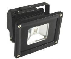 SYNERGY21 LED Fluter Outdoor 10W kaltweiß 900lm IP65 Gehäuse schwarz EEK:A+