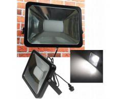 CHILITEC LED Fluter SlimLine 80W neutralweiß 5500lm IP44 schwarz EEK:A+