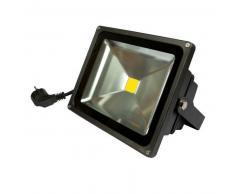 SYNERGY21 LED Fluter Outdoor 30W warmweiß dimmbar 2550lm IP65 schwarz EEK:A+