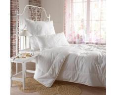 BettwarenShop Set Mono Bettdecke und Kopfkissen Naturtraum