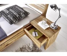 Nachttisch 50x35cm Wildeiche geölt