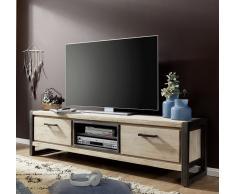 """TV-Board 190x45cm """"Tundra"""" Akazie Weiß"""