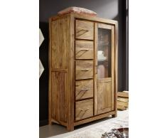 "Highboard 97x150cm ""Austin"" Sheesham massiv"