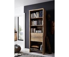 Bücherregal 71cm 'Dakar' Akazie massiv lackiert