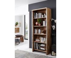 Bücherregal 81cm 'Dakar' Akazie massiv lackiert
