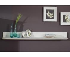 Wandboard 151cm 'Montreal' Kiefer weiß vintage